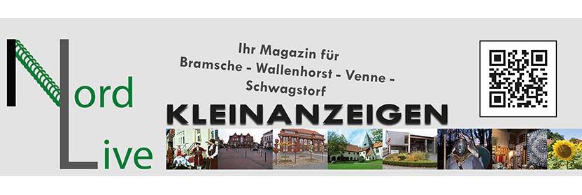 Kleinanzeigen in Nord live Tier + Wir Verlag Wallenhorst Bramsche Ostercappeln
