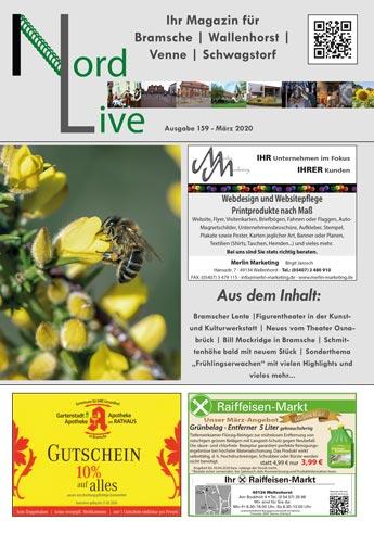 Nord live März 20 Tier + Wir Verlag Wallenhorst