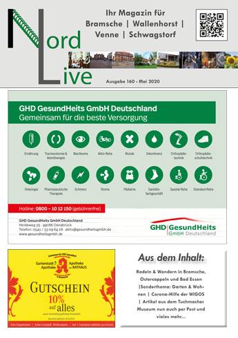 Nord live Mai 20 Tier + Wir Verlag Wallenhorst