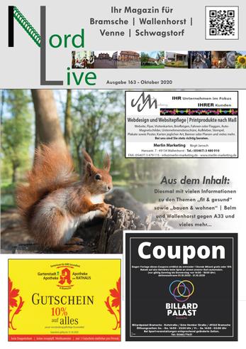 Nord live Oktober 20 Tier und Wir Verlag Wallenhorst