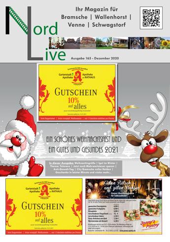 Nord live Dezember 20 Tier und Wir Verlag Wallenhorst