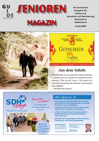 SeniorenMagazin 2021 Tier + Wir Verlag